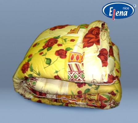 Одеяло полиэфирное 1,5-спальное; бязь кант