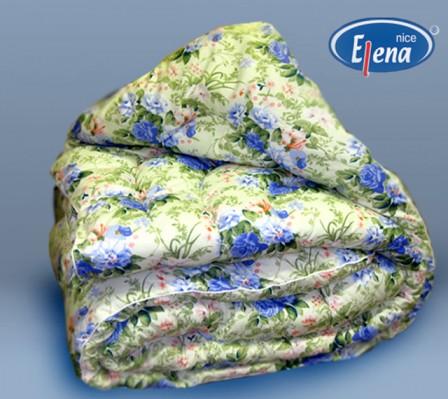 Одеяло файбер 2-спальное; поликоттон