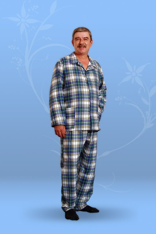 Пижама мужская (фланель)