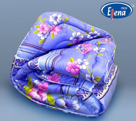 Одеяло овечья шерсть 1,5-спальное; поликоттон