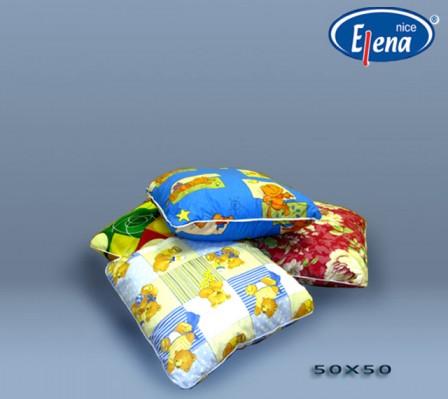 Подушка файбер 50х50; см поликоттон
