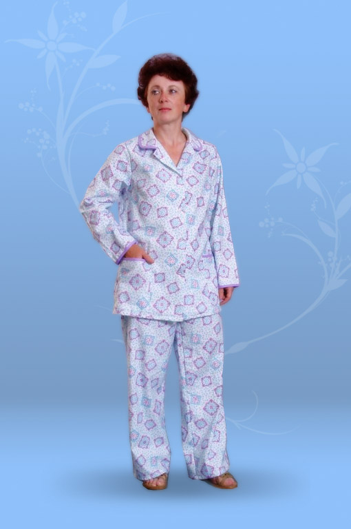 Пижама женская (фланель)