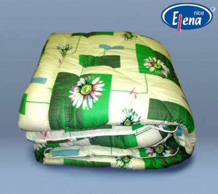 Одеяло полиэфирное 2-спальное; бязь кант