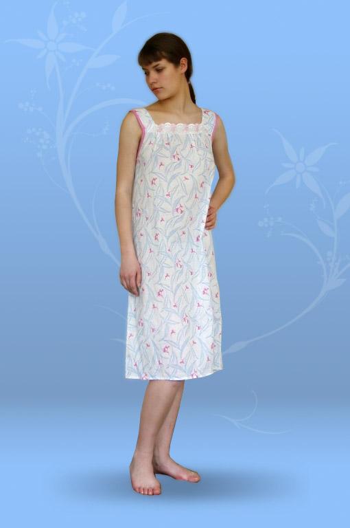 Сорочка ночная Анжелика (ситец)