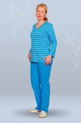 Толстовка простая с брюками (интерлок)