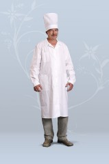 Халат медицинский мужской (бязь)
