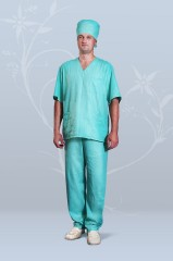 Костюм хирургический мужской (бязь)
