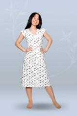 Сорочка ночная женская - реглан (кулирка, гипер)